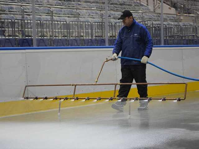Предложение: Заливка льда, катков, хоккейных коробок