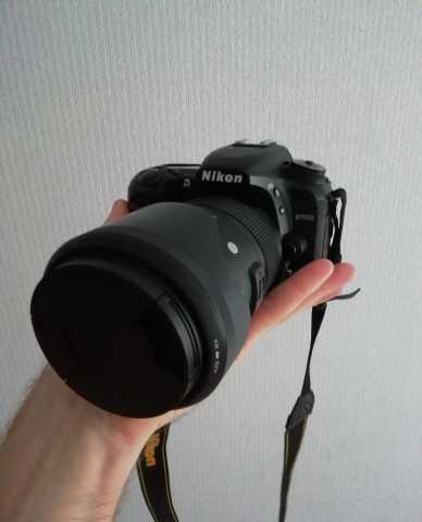 Продам: Nikon d7500 + Sigma 18-35 f1.8