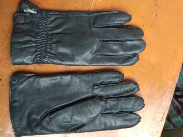 Продам Перчатки мужские кожаные. Р-р 10
