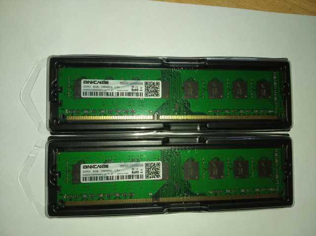 Продам DDR3 8GB, 4GB - 1866, 1600 для amd,intel