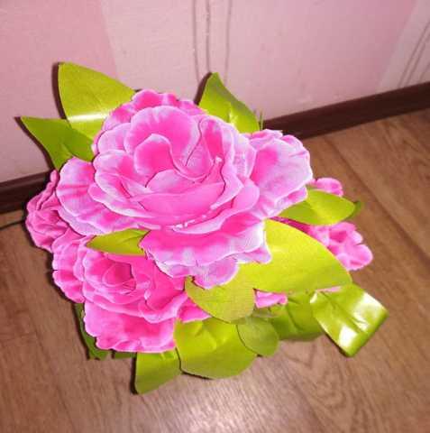 Продам лампа-цветок роза