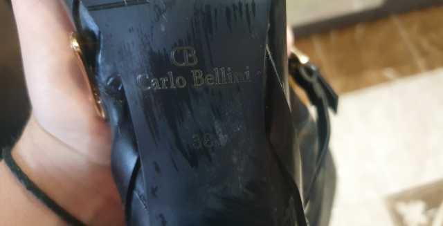 Продам сапоги кож зам осень весна CARLO BELLIN