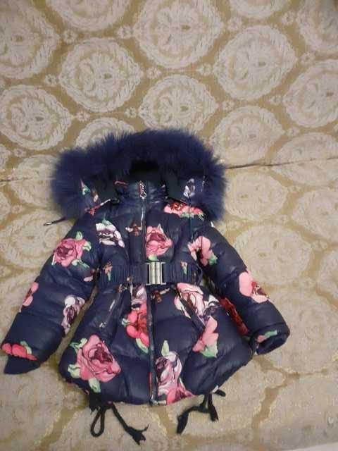 Продам: Зимняя куртка для девочки, рост 104 см