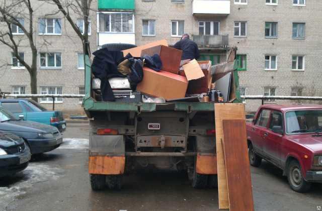 Предложение: Вывоз строительного мусора. Контейнер. Камаз