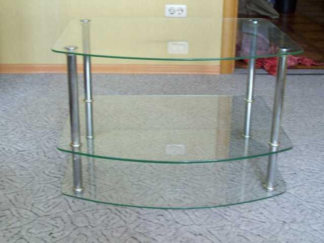 Продам Тумба стеклянная