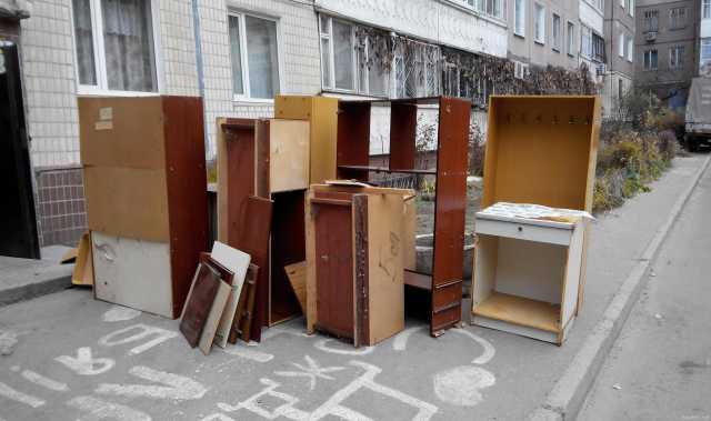 Предложение: Вывоз и утилизация старой мебели