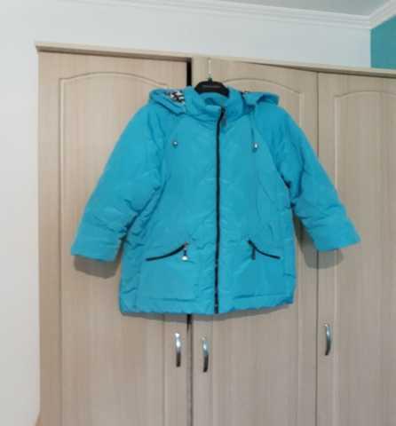 Продам Куртка бирюзовая