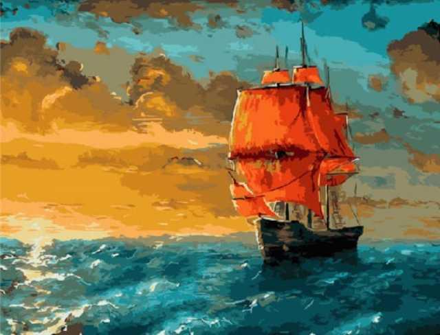 Продам Картины по номерам 40х50 см
