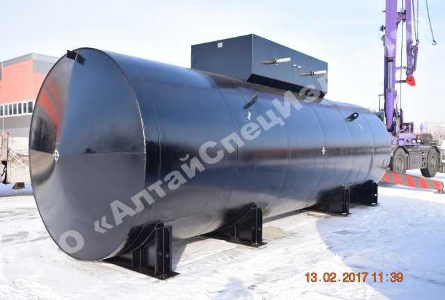 Продам Резервуар горизонтальный стальной