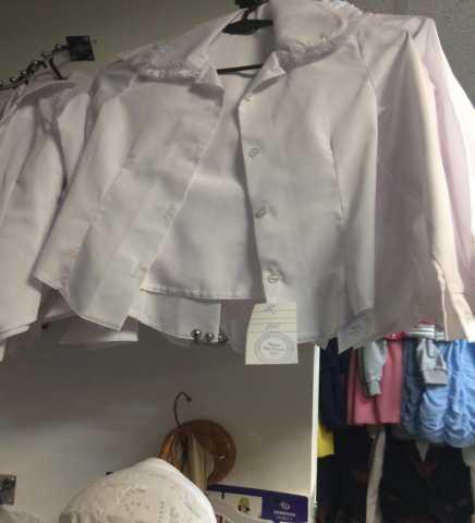 Продам Блузки для девочек 36-48