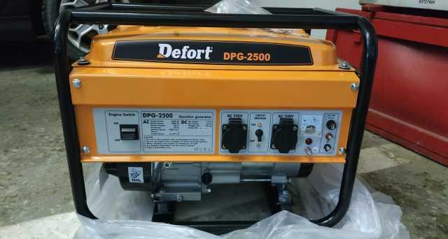 Продам Электрогенератор Defort DPG-2500