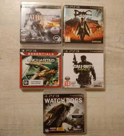 Продам 5 игр PS3