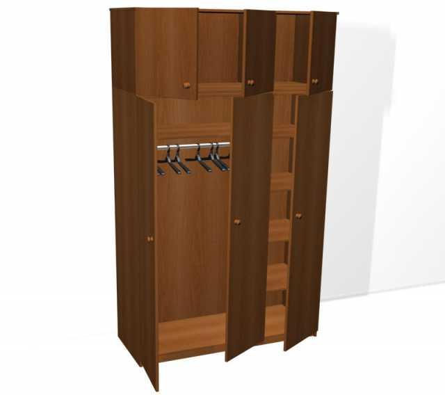 Продам: Шкафы из двустворчатые с антресолью опт