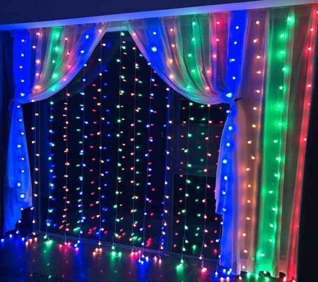 Продам Светодиодная LED гирлянда Занавес 2*2 м