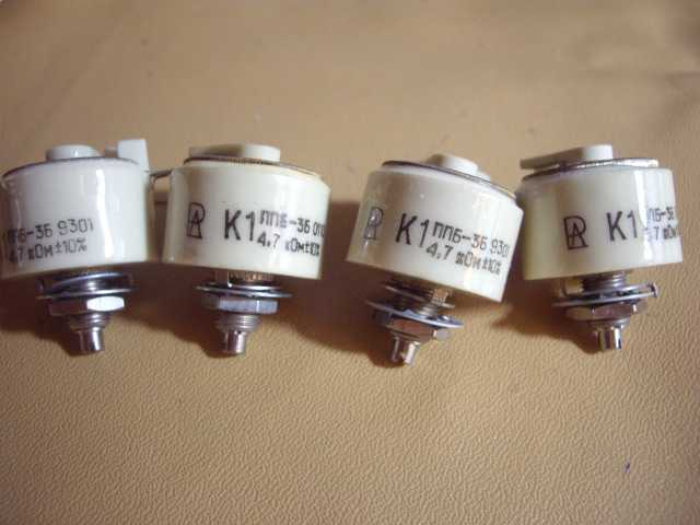 Продам Переменный проволочный резистор ППБ-3В-4