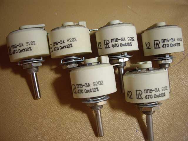 Продам Переменный проволочный резистор ППБ-3А-4