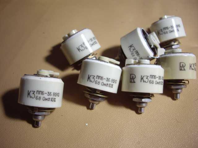 Продам Переменный проволочный резистор ППБЕ-В-3