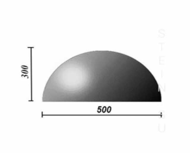 Продам Бетонная полусфера d500хh300 мм
