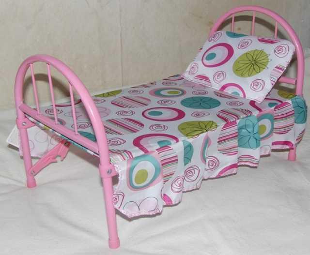 Продам: Кроватка для кукол металлическая с подуш