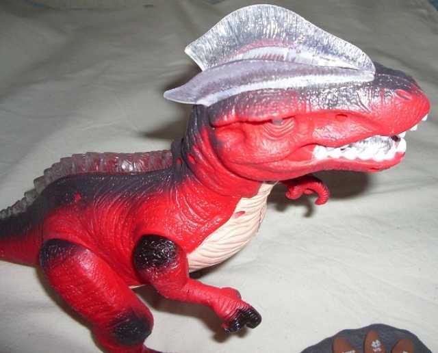 Продам Робот-динозавр 36 см Тираннозавр на ради