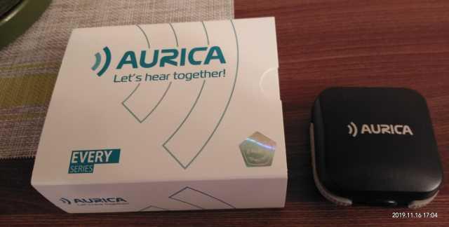 Продам Слуховые аппараты Aurica. На гарантии
