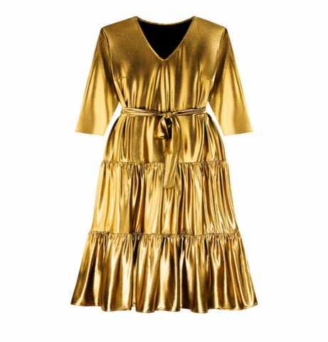 Предложение: Длинное платье из тонкого, струящегося т
