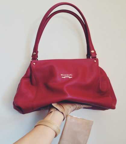 Продам: Кожаная новая сумка
