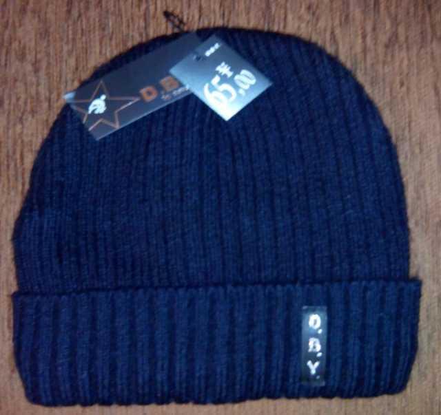 Продам Вязаная зимняя мужская шапочка O.B.Y