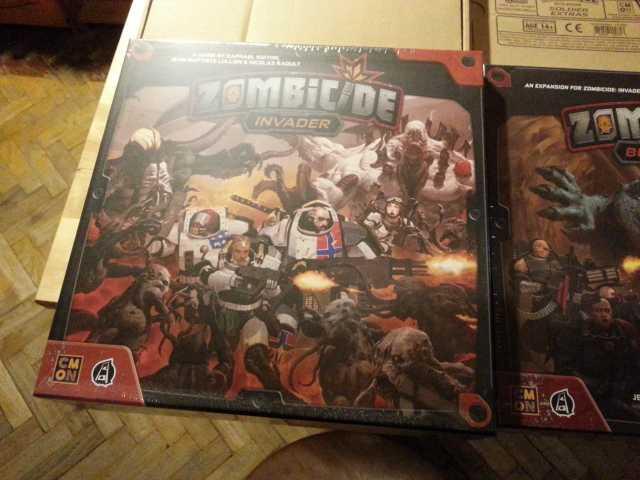 Продам Zombicide: Invader