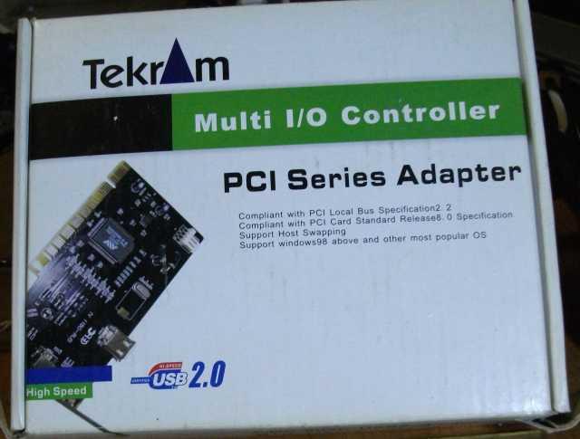 Продам FireWire контроллер Tekram DC / TR-1394W