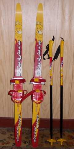 Продам: Лыжи детские 120