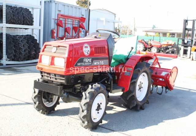 Продам: Мини-трактор Mitsubishi MTX15D 2