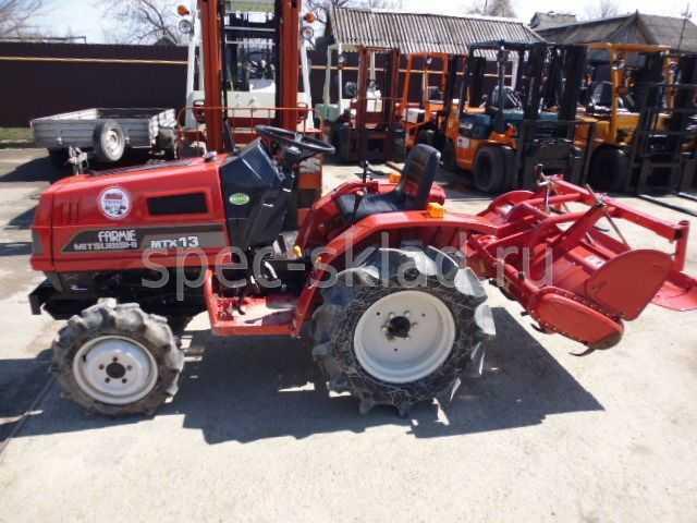 Продам: Мини-трактор Mitsubishi MTX13D