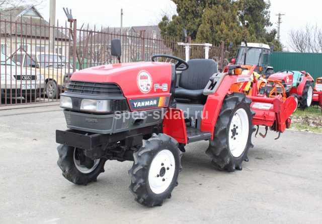Продам Мини-трактор YANMAR F6D 2