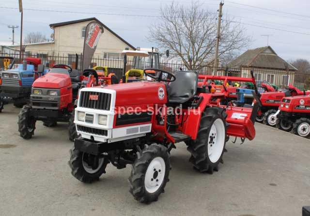 Продам Мини-трактор YANMAR F16D 2