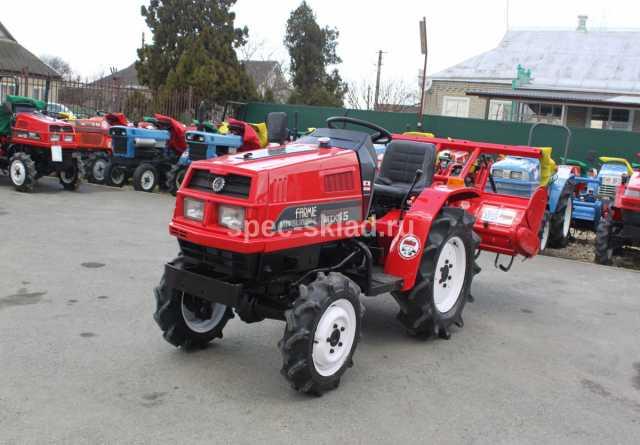 Продам: Мини-трактор Mitsubishi MTX15D 3