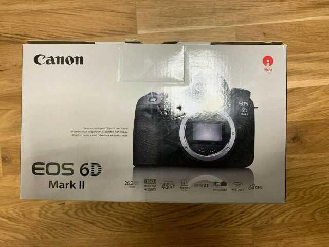 Продам Цифровая зеркальная камера Canon EOS 6D