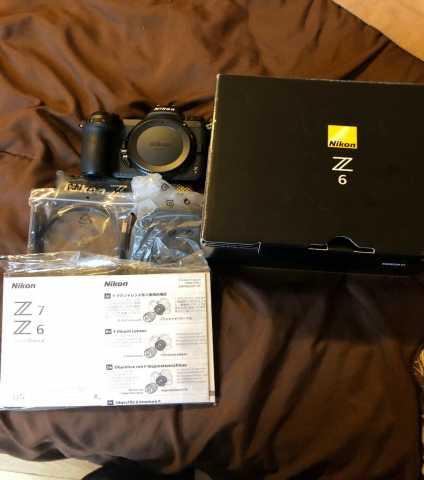 Продам Nikon Z 6 беззеркальная цифровая камера