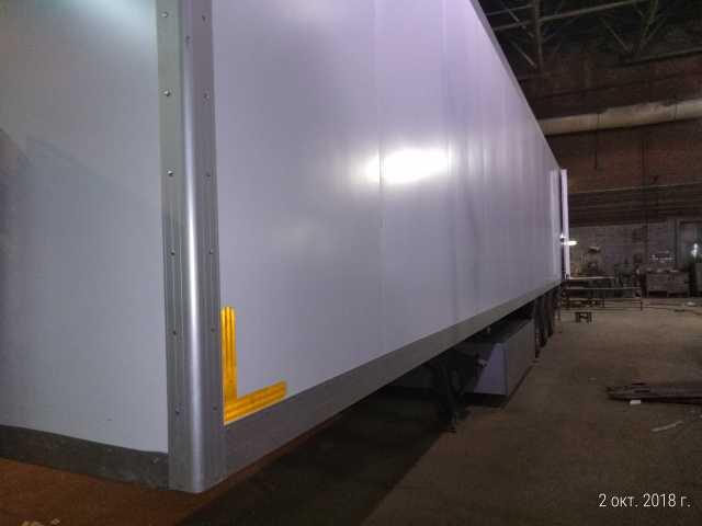 Предложение: ремонт бортов фургона
