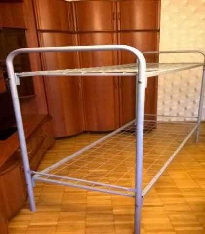 Продам: Кровати железные (для рабочих)
