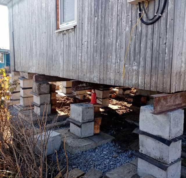 Предложение: Поднять, подъём дом, гараж, фундамент!!!