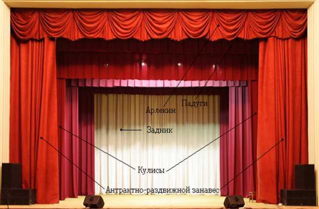 Продам Пошив штор и одежды сцены для бюджетных