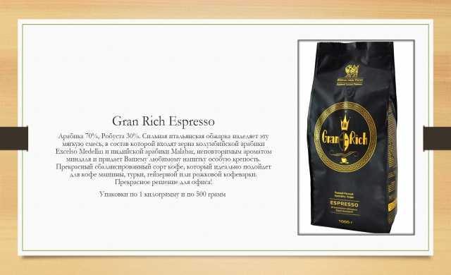 Продам Кофе Gran Rich Гран Рич