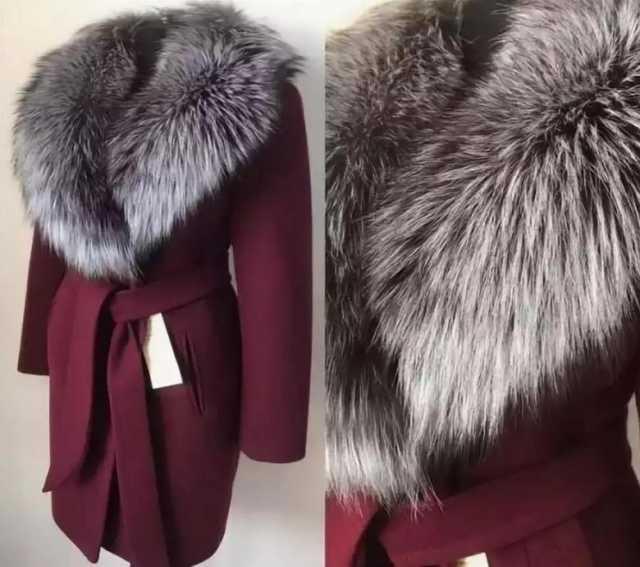 Продам Пальто на зиму с натуральным мехом