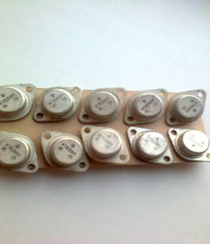 Продам КТ808АМ транзисторы СССР