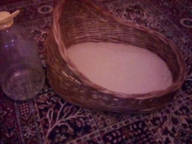 Продам Лежанка плетёная для кошки или небольшой