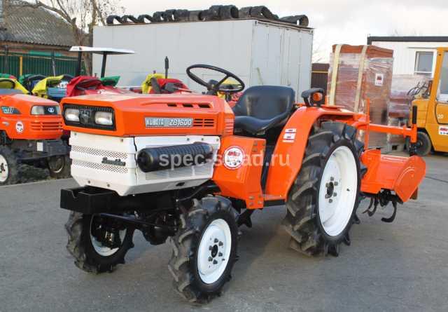 Продам Мини-трактор Kubota B1600D