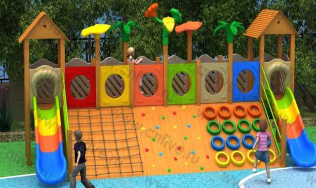 Продам детские спортивные игровые комплексы