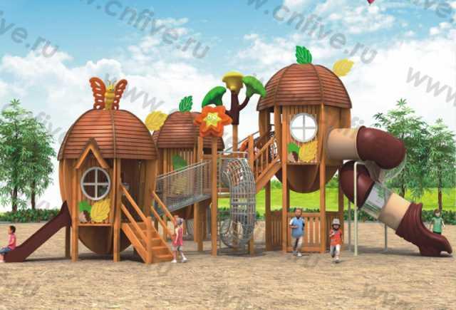 Продам Деревянные игровые площадки
