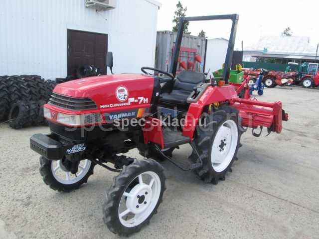 Продам Мини-трактор YANMAR F7H